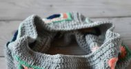 crochet granny square cowl free pattern