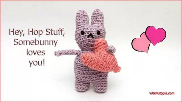 Crochet Amigurumi Easter Bunny Free Pattern Video Tutorial