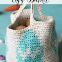 Crochet Easter Egg Basket Free Pattern