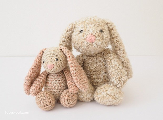 Free Pattern This Crochet Bunny Is Beyond Adorable Perfect For