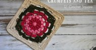 crochet afghan square free pattern