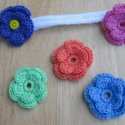 Crochet Flower Headband Free Pattern