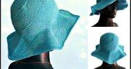 Crochet Sun Hat Easy Free Pattern
