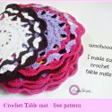 Crochet Table Mat Free Pattern