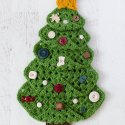 crochet granny square christmas tree